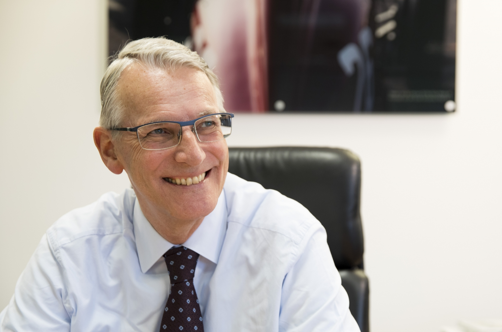 Canon European chief executive Rokus van Iperen