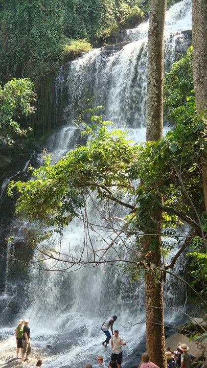 Kintampo waterfalls Ghana