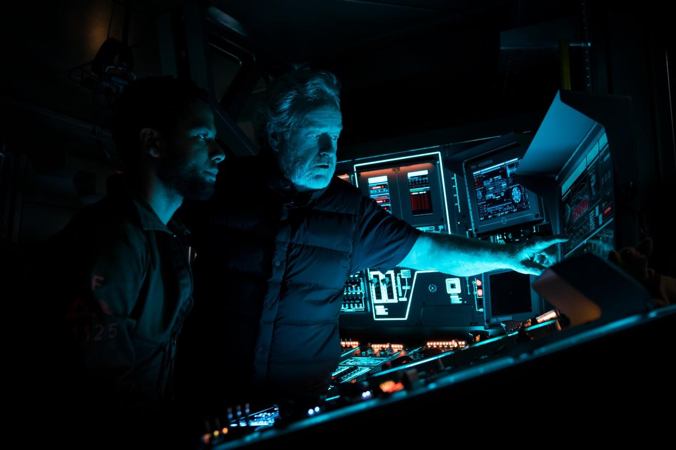 Ridley Scott on Alien: Covenant set
