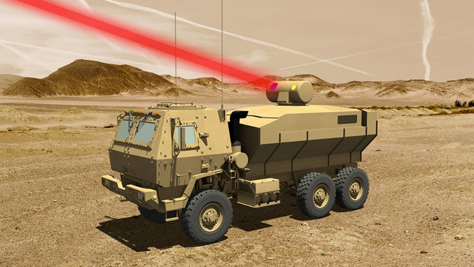 Lockheed Martin truck-mounted laser weapon
