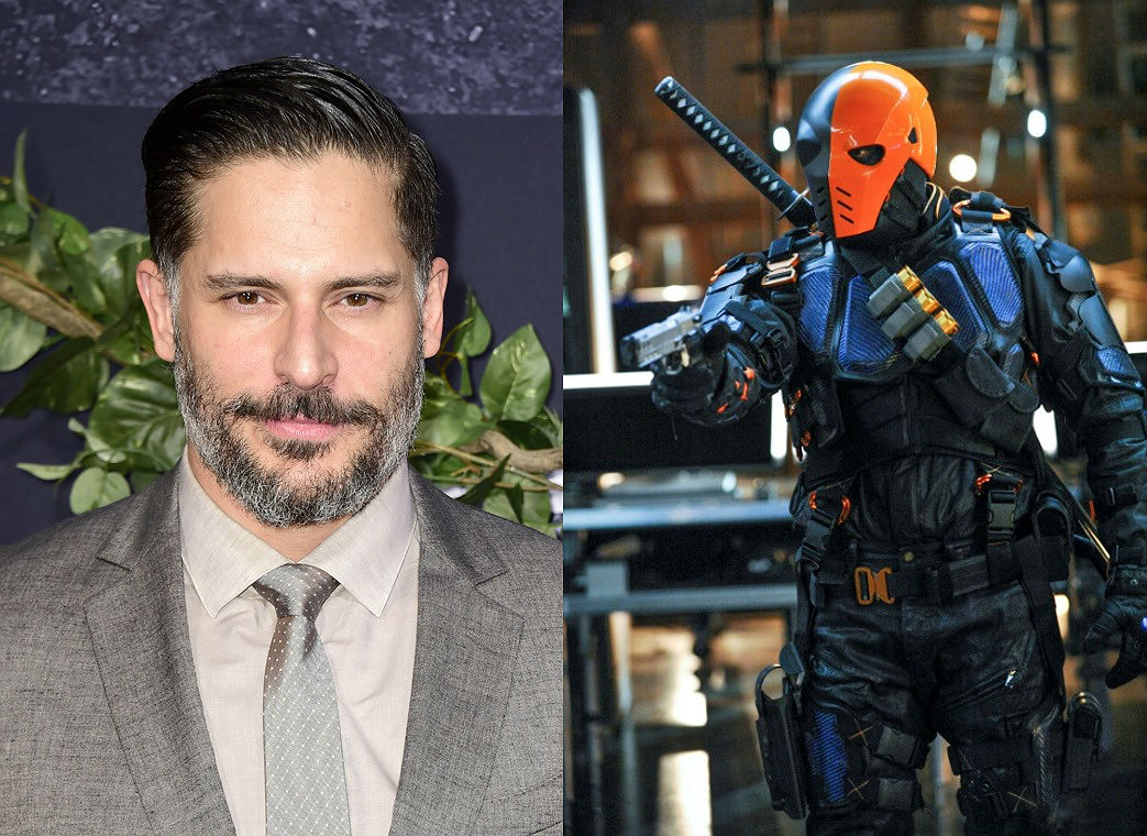 Joe Manganiello and Deathstroke