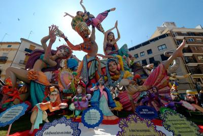 Las Fallas 2017 festival fiesta valencia