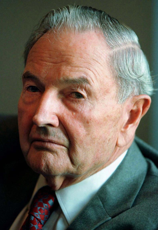 Presidents Pictures: Banker, Philanthropist And Billionaire David Rockefeller