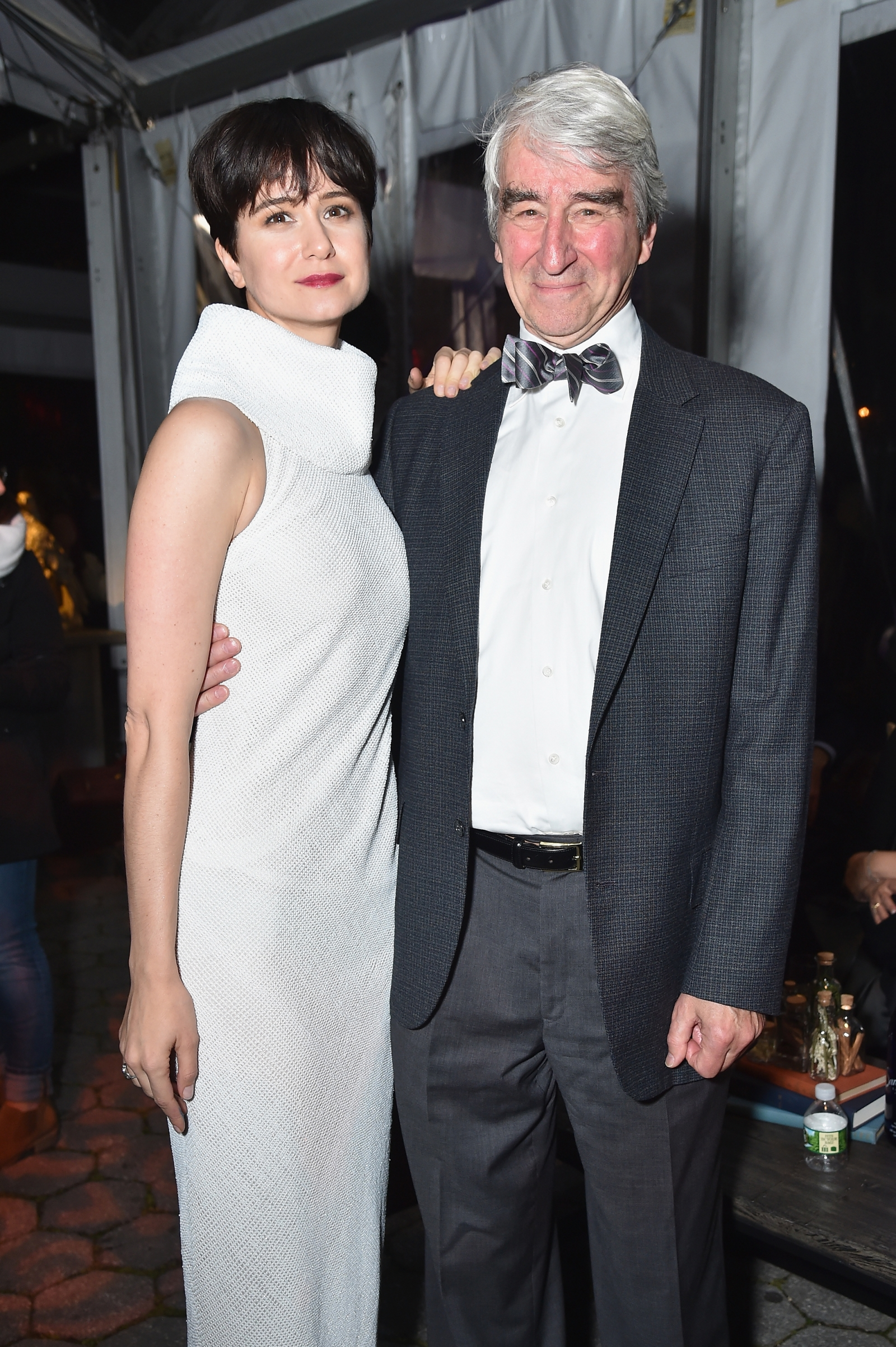 Sam Waterston and his daughter Katherine Waterston