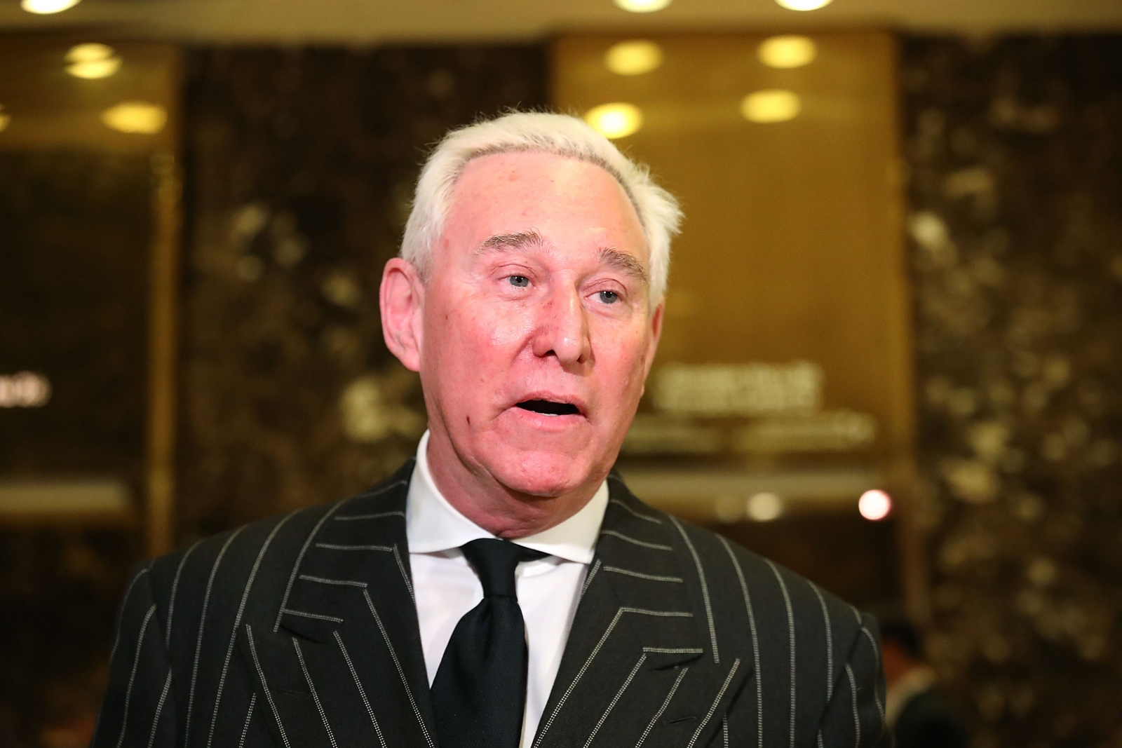 Trump adviser Roger Stone reacts to Comey congressional testimony