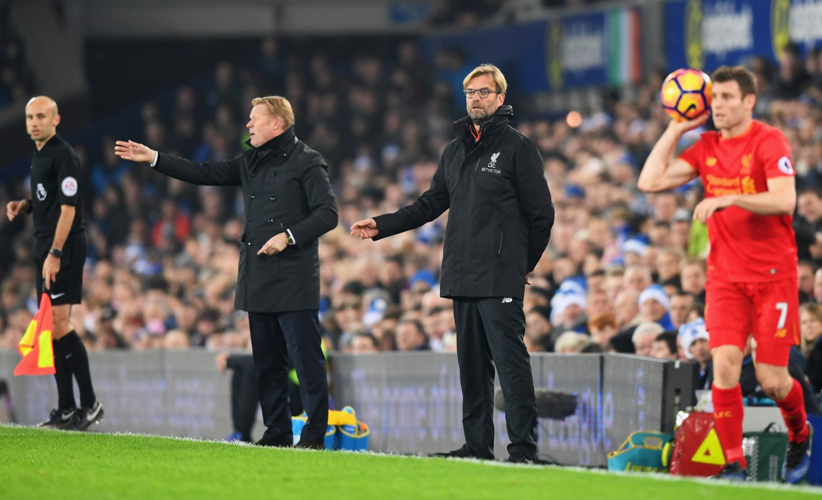 Ronald Koeman and Jurgen Klopp