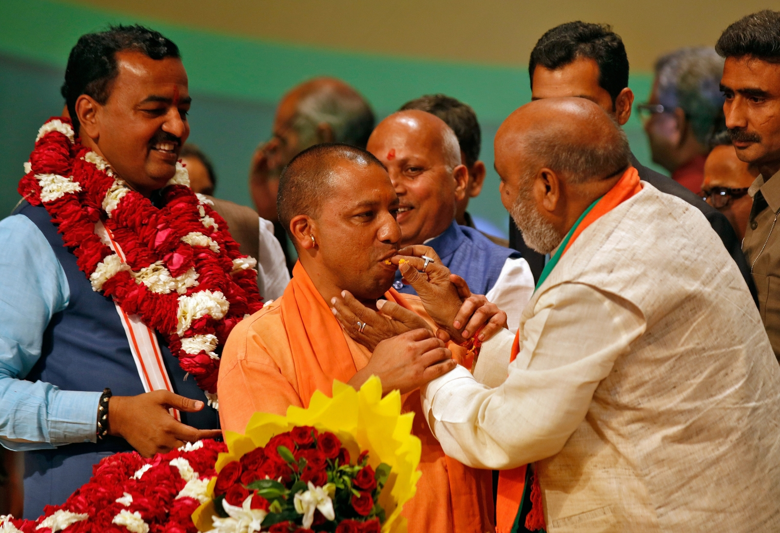 Chief minister Yogi Adityanath promises UP's all-round development