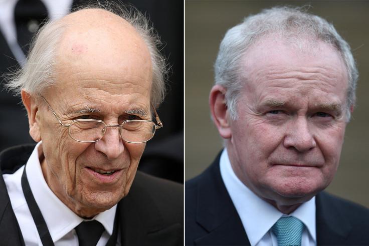 Norman Tebbit, Martin McGuinness