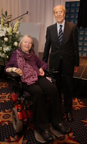 Norman and Margaret Tebbit