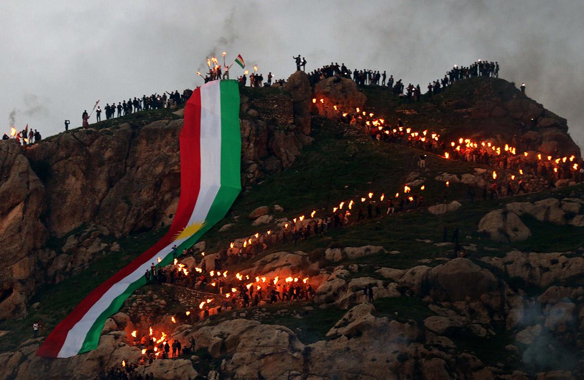 Images of Newroz 2017: Kurdish New Year and spring equinox celebrations