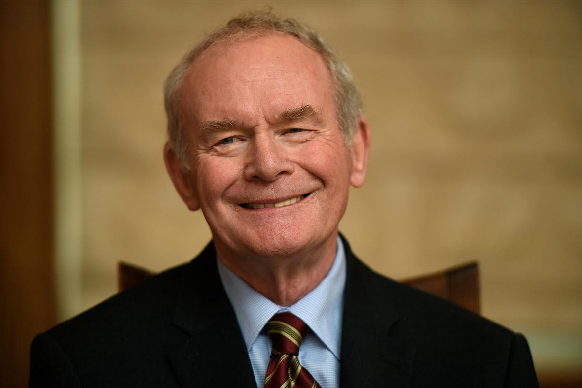Sinn Fein's Martin McGuinness Dies Age 66