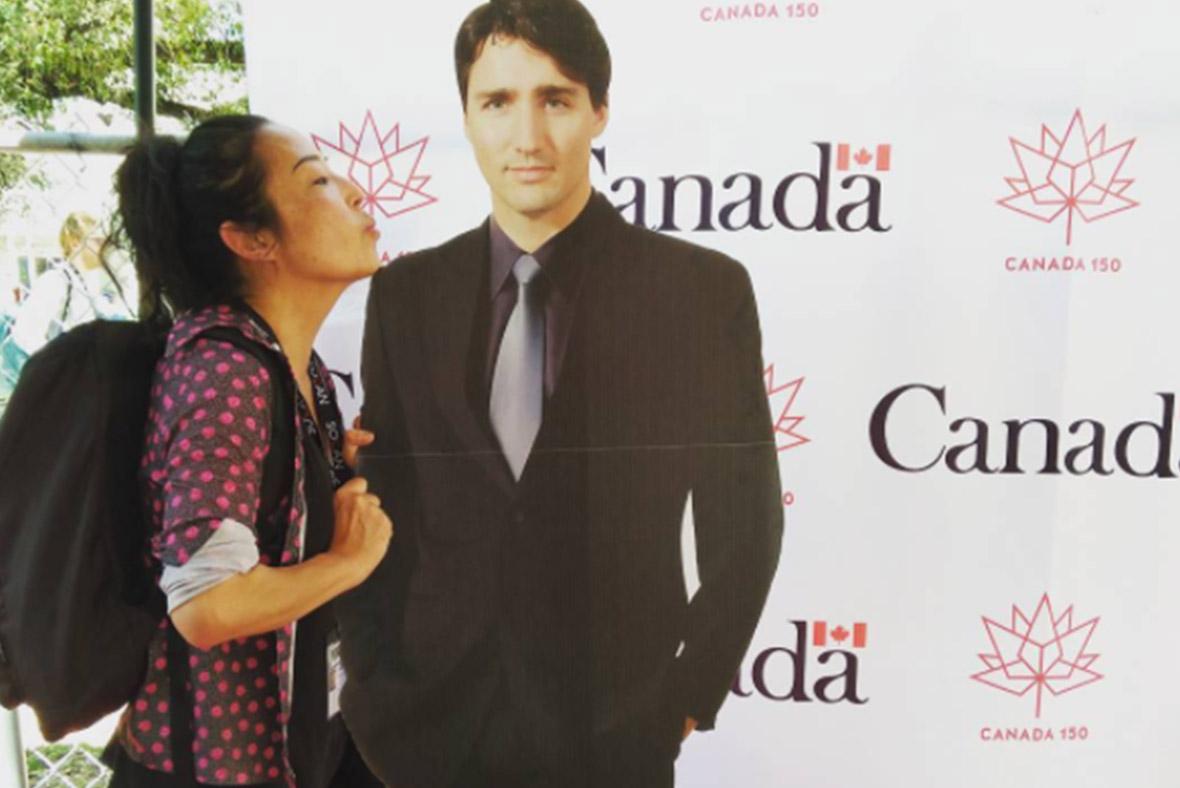 Justin Trudeau cut out