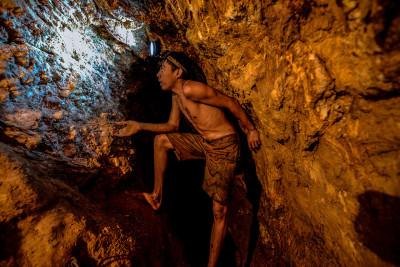 Venezuela gold rush illegal mining