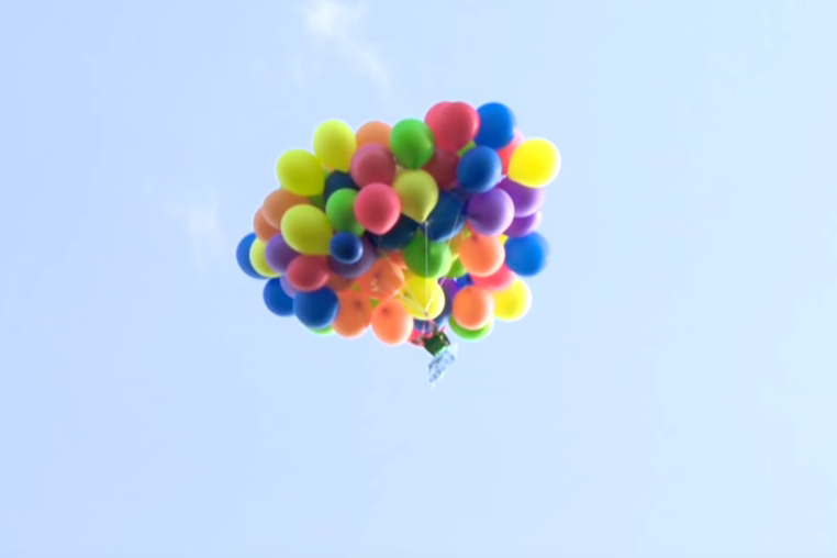 Man Fined For Flying Over Calgary Using Helium Balloons