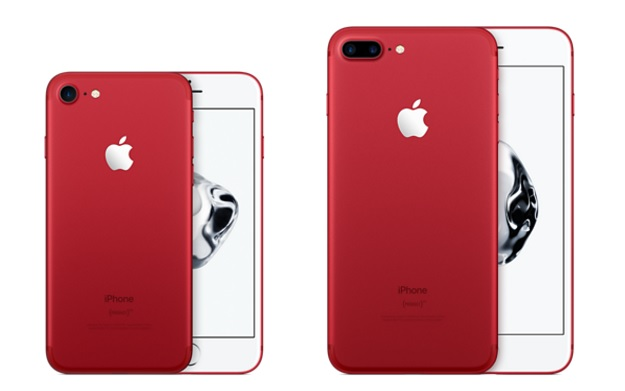 (Product) Red iPhone 7 and 7 Plus