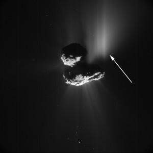 rosetta comet 67p