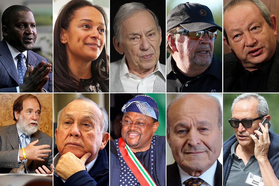 Richest Africans 2017