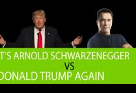 Arnold Schwarzenegger Ramps Up His Feud With President Trump Again