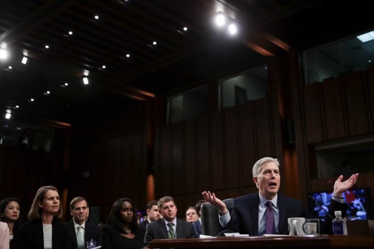Neil Gorsuch's Senate Hearing