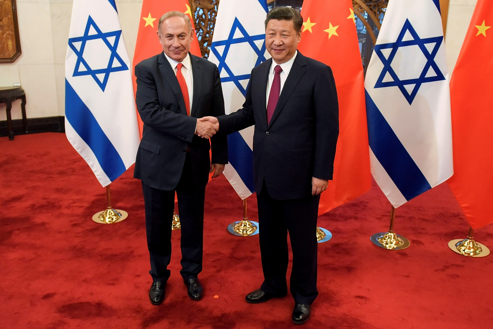China Israel relations