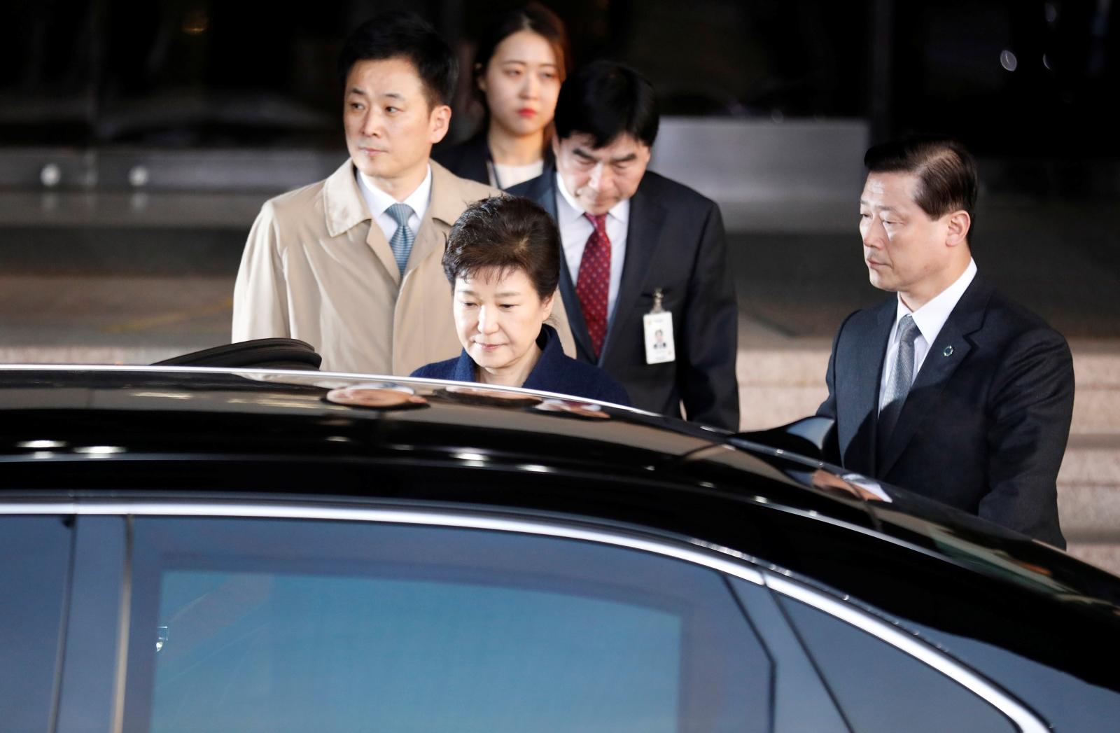 South Korea's ousted leader Park Geun-hye