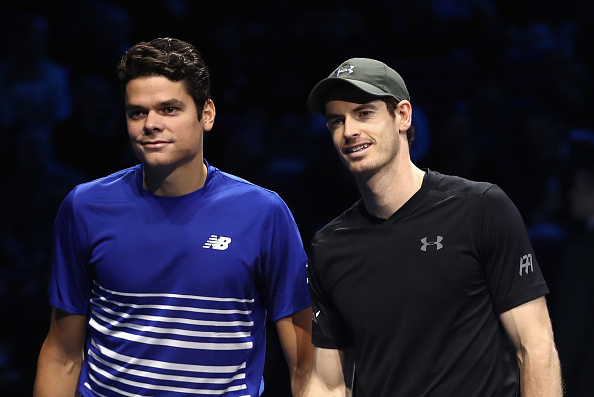 Raonic and Murray