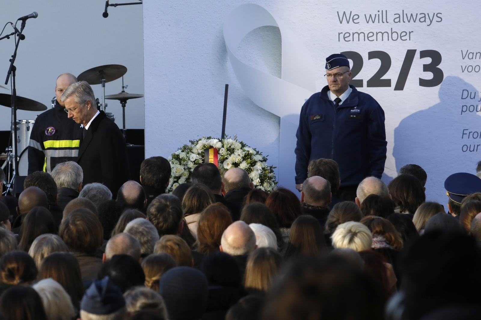 Brussels bombing anniversary