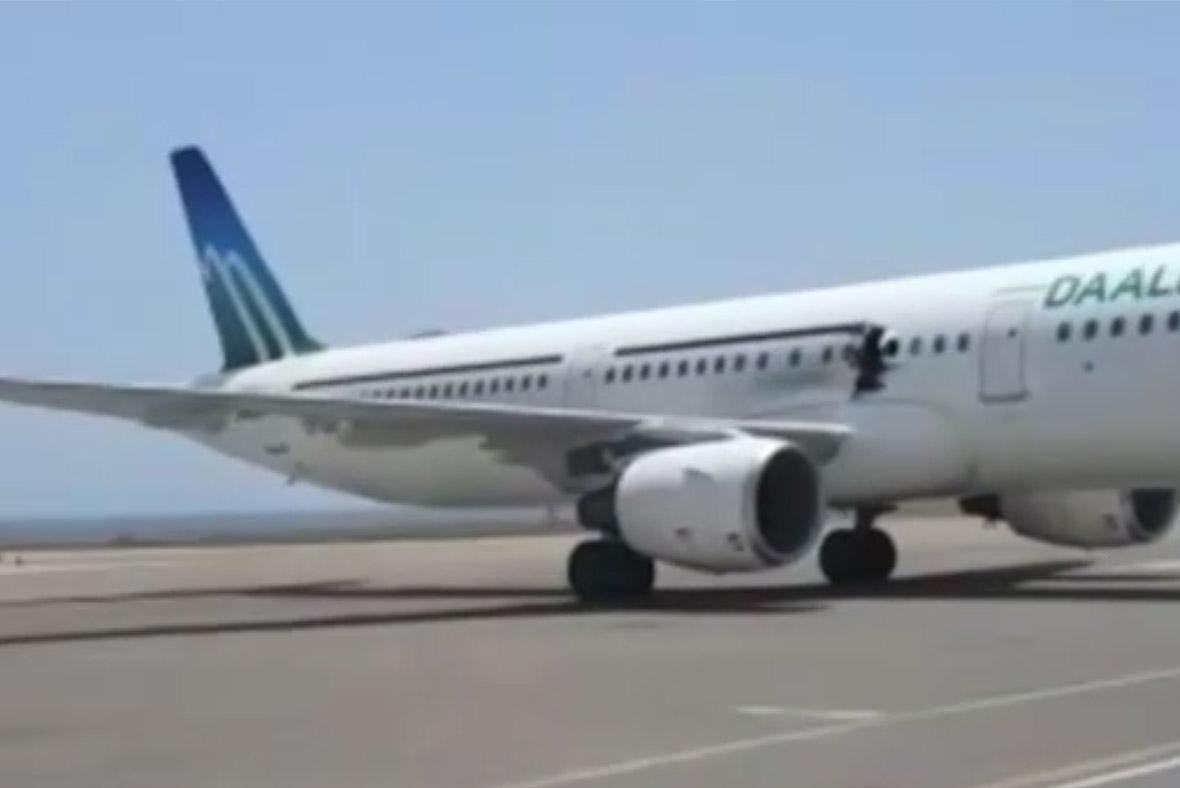 Somali plane