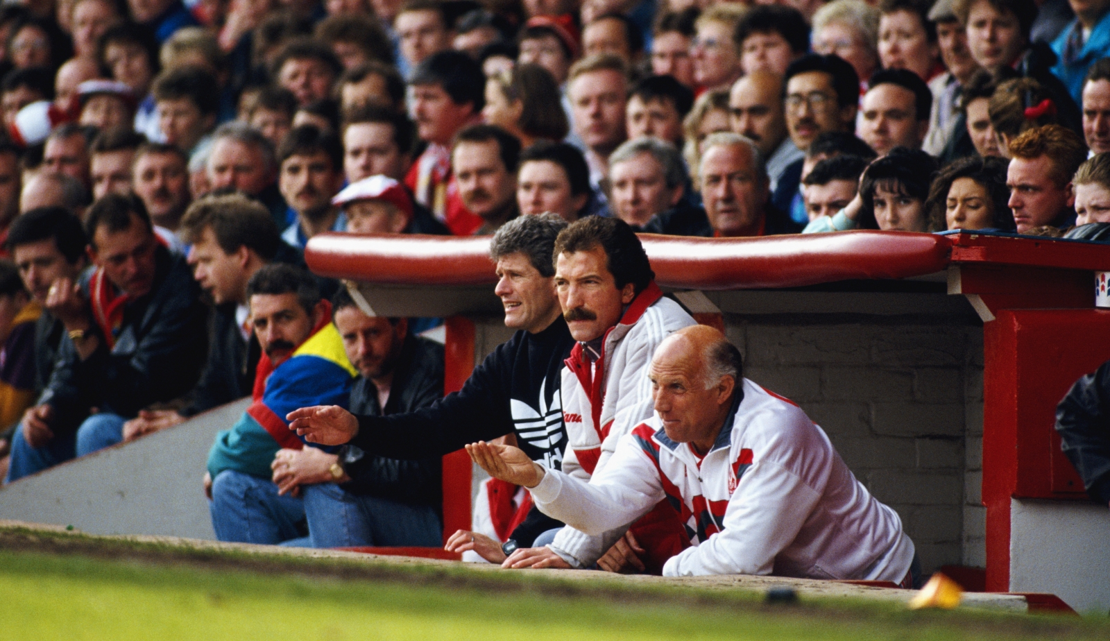 Graeme Souness and Ronnie Moran