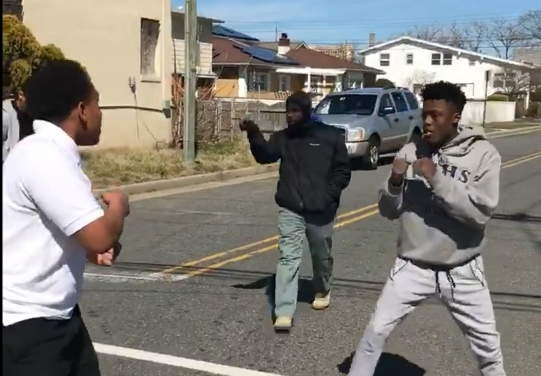 Man stops New Jersey fight