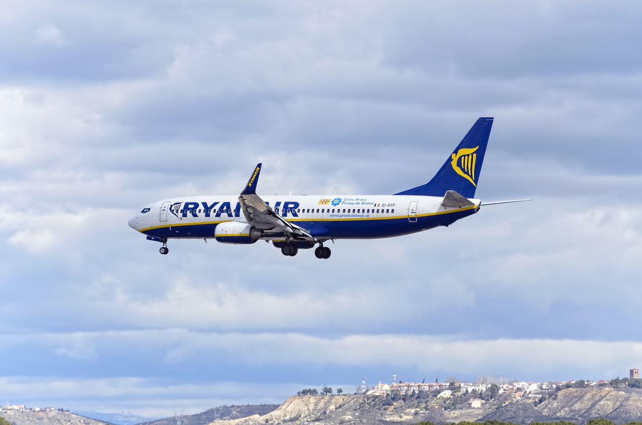 Passenger growth pushes up profits at Ryanair