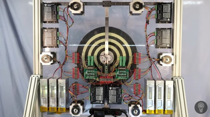 Robotic dartboard