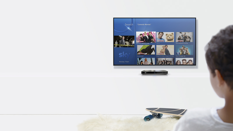 Sky Q launches voice search