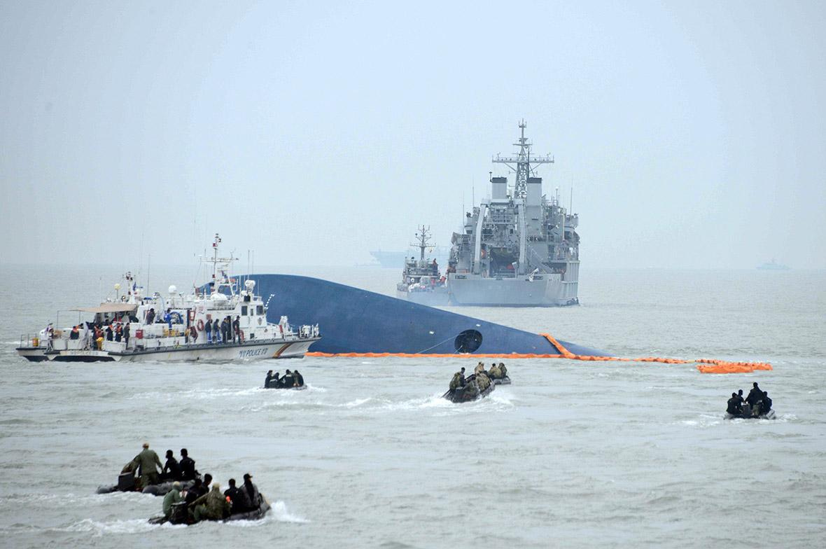 Sewol ferry disaster 2014 South Korea