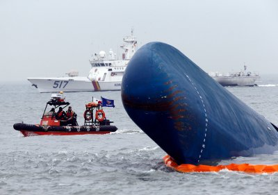 Sewol ferry disaster 2014 South Korea