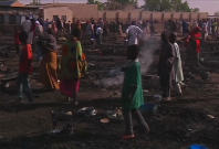 Multiple blasts kill at least four in Nigerian refugee camp
