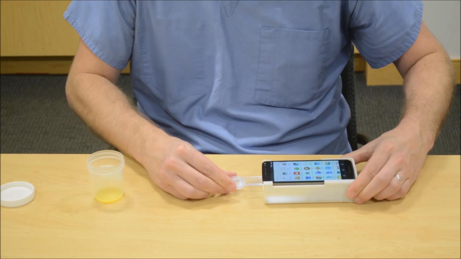Smartphone fertility app