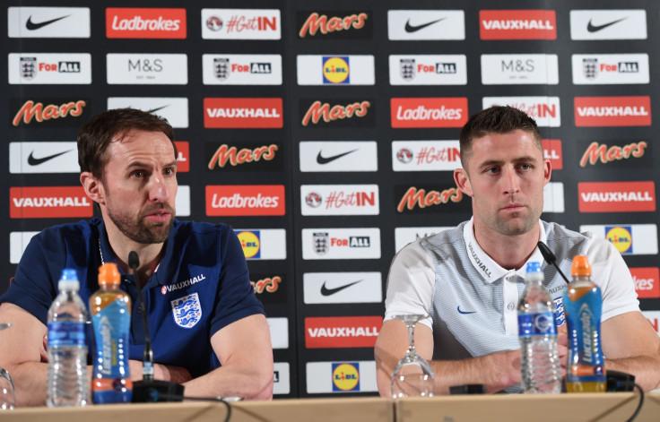 Gareth Southgatea and Gary Cahill
