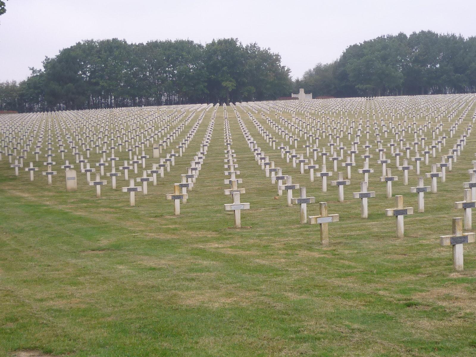 Arras - Le Target cemetary