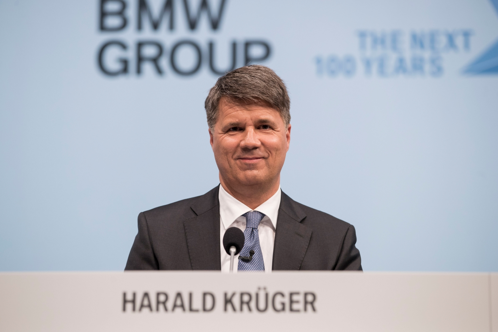 BMW chief executive Harald Krueger