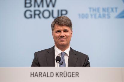 BMW chief executive Harald Krueger