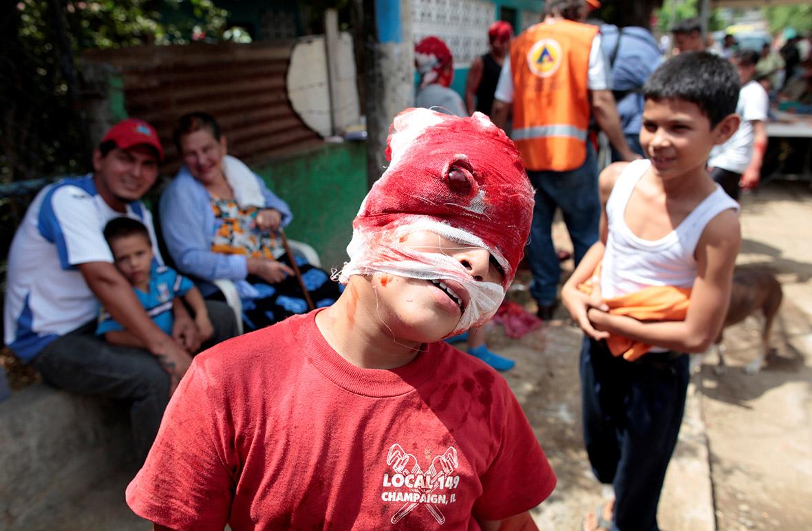 Managua earthquake simulation exercise