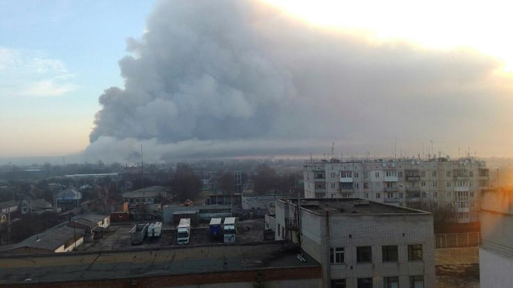 Balaklia explosion
