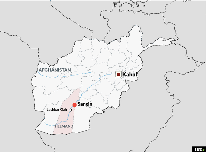 Sangin, Afghanistan