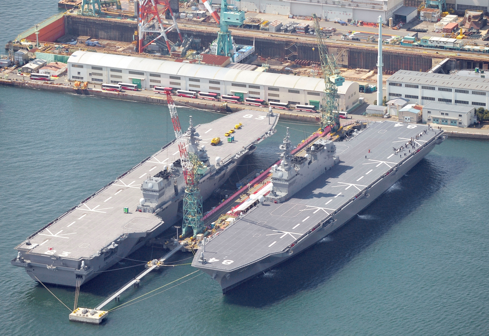 Japanese helicopter carrier