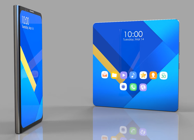 Samsung Galaxy X 3D concept render