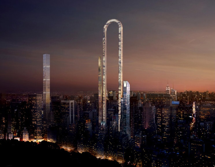 Incredible 4000ft u-shaped skyscraper dreamt up for NY skyline