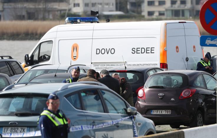 Belgian police Antwerp attack