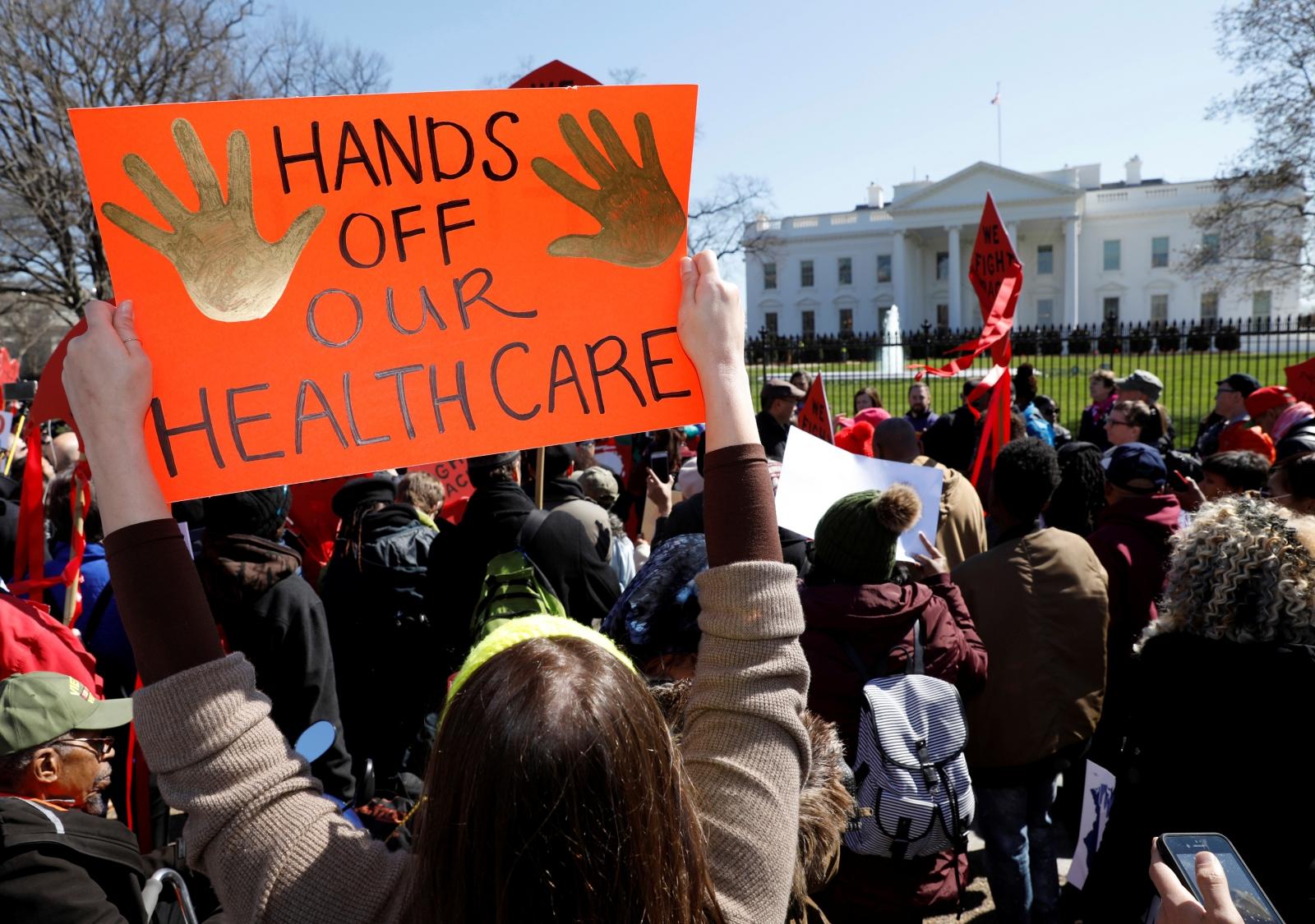 Healthcare fight