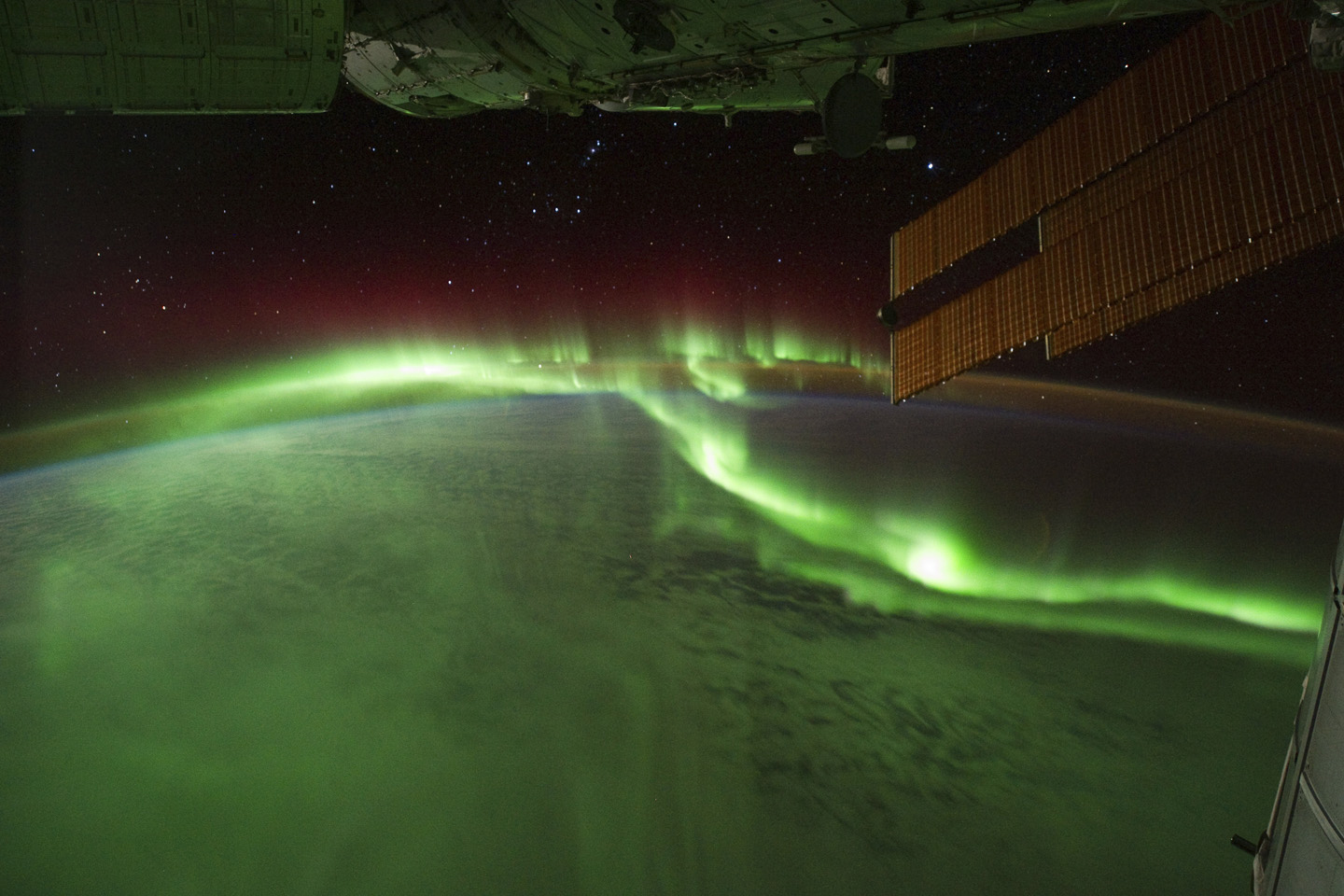 Aurora Australis or Southern Lights